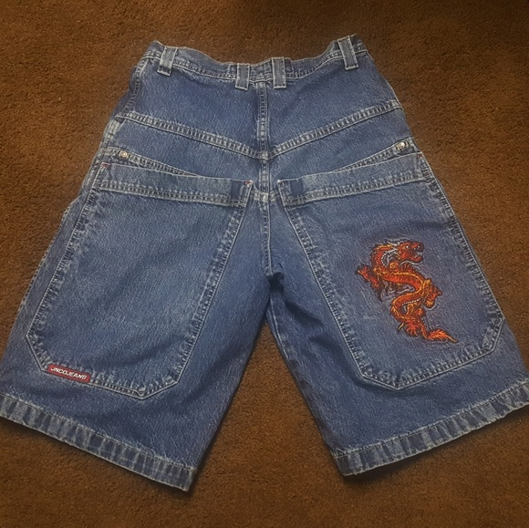 5ad689d5a2 jnco Other - Vintage JNCO Mens Jean shorts dragon trim